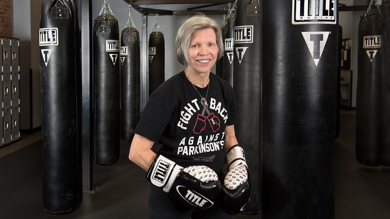Mara Hornstrom fights back against Parkinson's disease.