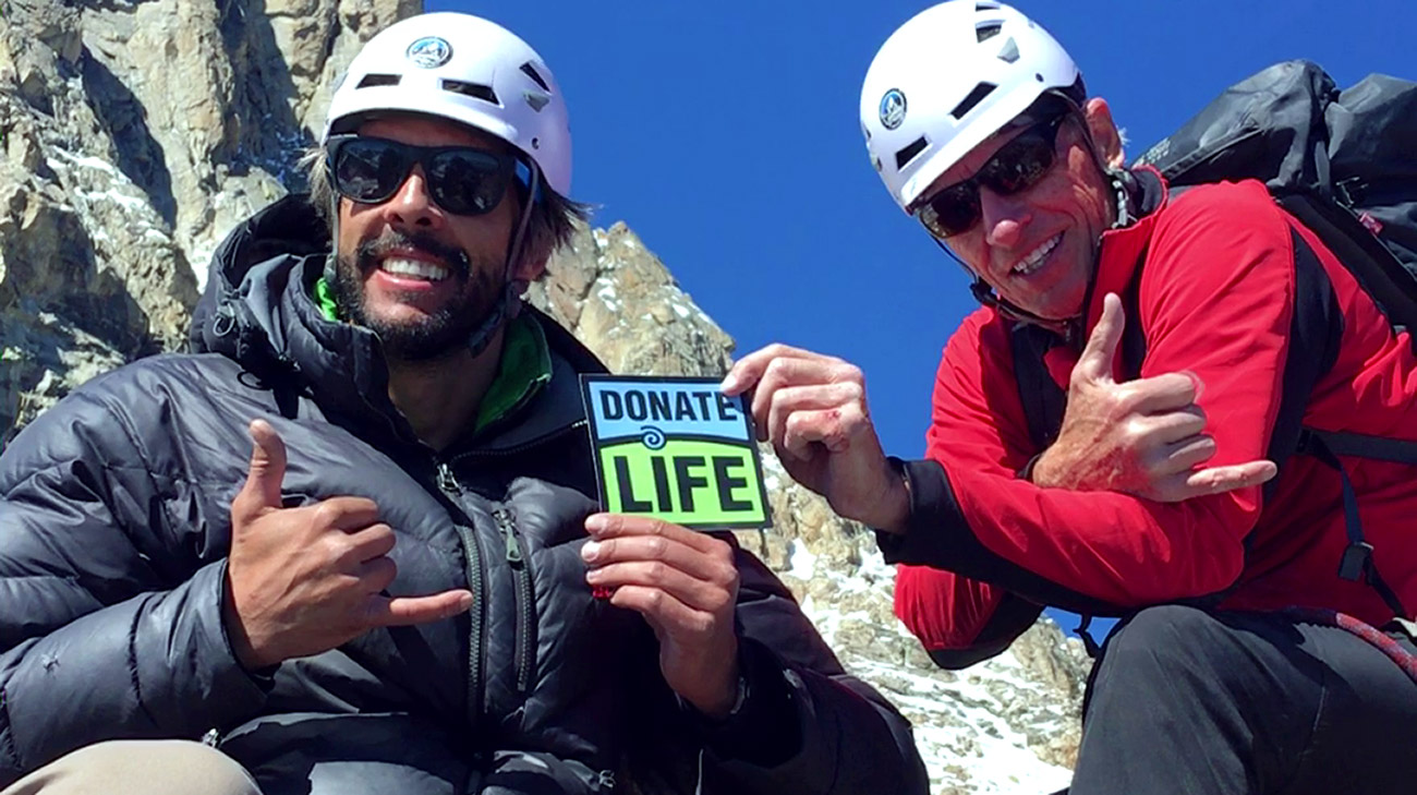 Mark and David hope to raise awareness for the importance of living donor liver transplantation.