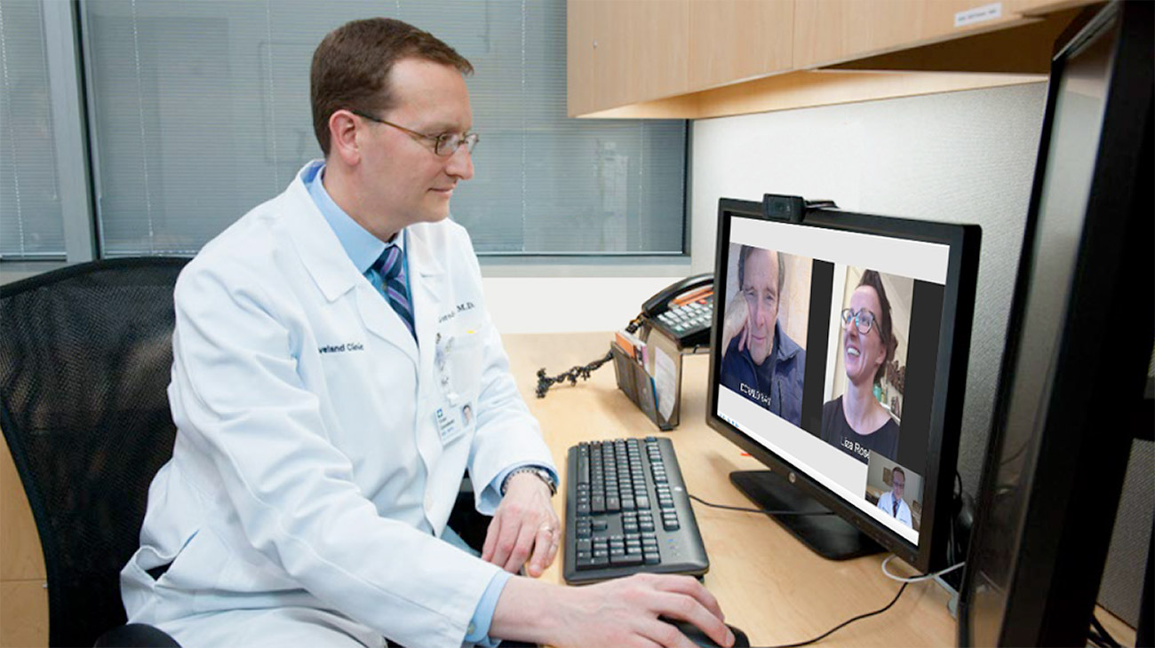 Virtual Visits Keep Complex Care for Heart Failure on Track | Cleveland Clinic Patient Stories