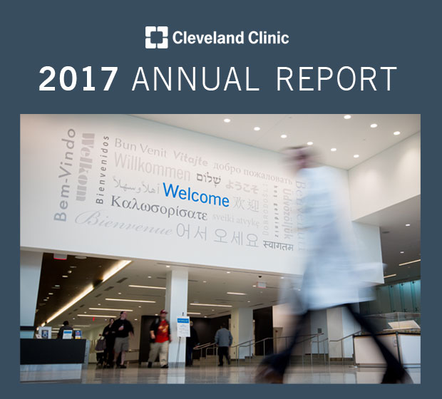 Cleveland Clinic Annual Report 2017