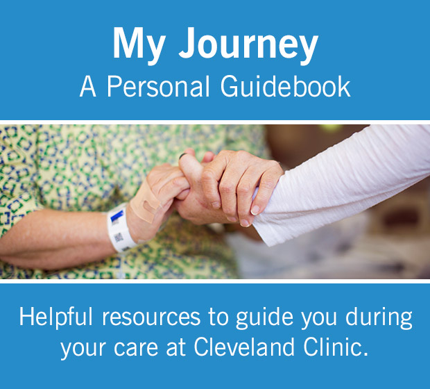 My Journey: A Personal Guidebook for Cancer Patients | Cleveland Clinic