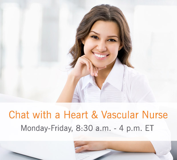 Chat with a Heart & Vascular Nurse