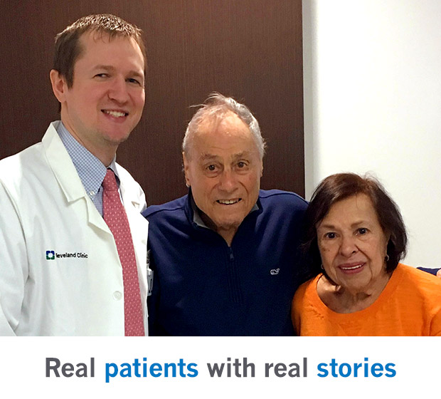 Real patients with real stories from Cleveland Clinic's Heart & Vascular Institute.