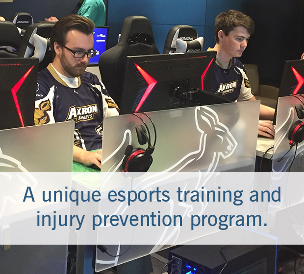 Cleveland Clinic Sports Health eSports Progam