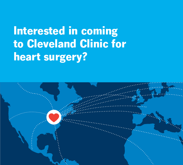 Interested in coming to Cleveland Clinic for heart surgery?